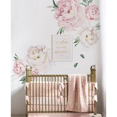 Springtime is peak season for peonies, but keep them blooming all year-long with the Peony Flowers Wall Decal. The contemporary design and color palette of this wall sticker complements modern spaces and updates more traditional decor. This wall sticker makes a bold and elegant statement alone, but can also refresh an accent wall or add a bright wash of color to an existing collection of art and photographs.