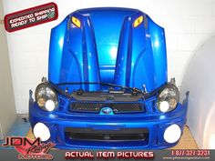 Bugeye WRX 02-03 Version 7 Prodrive Nose Cut, Hood with Scoop, Foglights, HID Headlights with Ballasts & V7 Fenders with Side Markers  Find this item on our website: https://www.jdmracingmotors.com/engine_details/2478  Tags: #jdm #jdmracing #jdmracingmotors #subaru #subaruwrx #subarusti #subaruwrxsti #impreza #imprezawrx #imprezawrxsti #wrx #wrxsti #sti #subarunosecut #subaruconversion #version7 #v7 #ver7 #bugeye #subarubugeye #wrxbugeye #jdmparts #jdmsubaru