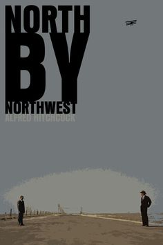 North By Northwest Move Poster: