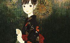Jun Kumaori es una joven artista japonesa. Su obra tiene una distintiva apariencia manga y muestra escolares sin apenas expresión en sus caras. Los rostros estoicos añaden un punto más extraño a las ya de por si extravagantes imágenes.