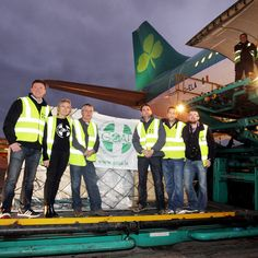 Almost 40 tonnes of humanitarian aid from Ireland is on its way to the Philippines, following the departure of the specially-commissioned GOAL - Aer Lingus flight from Dublin Airport Dublin Airport, Philippines, Ireland, Highlights, Goals, Luminizer, Irish, Hair Highlights, Highlight