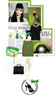 """""""Go Green"""" by catherine-bromley ❤ liked on Polyvore"""