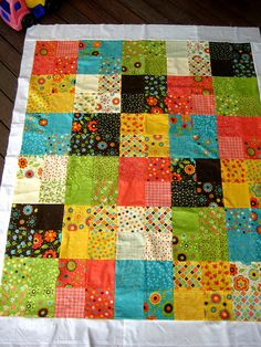 zy's quilt - finally quilt top is done!