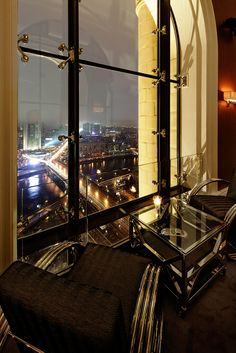 Fantastic views of Moscow from the Mercedes Bar