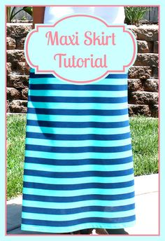 Maxi Skirt Featured on All Things With Purpose: All Things Thursday Blog Hop {No. 2}