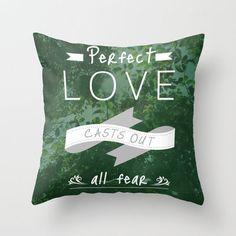 #Society6                 #love                     #John #4:18 #FEAR #LOVE #Throw #Pillow #Pocket #Fuel #Society6                1 John 4:18 NO FEAR IN LOVE Throw Pillow by Pocket Fuel | Society6                                      http://www.seapai.com/product.aspx?PID=1707162