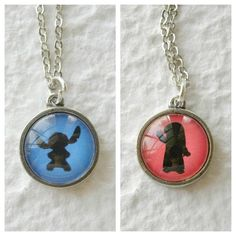 Ohana Double Sided Petite Disney Necklace - Inspired from Disneys Lilo and Stitch. $22.50, via Etsy.