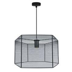 Suspension Design Lilium métal noir 1 x 60 W INSPIRE | Leroy Merlin