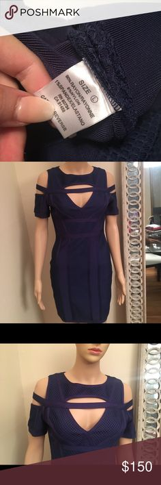Inspired By Herve leger Bandage Dress Bandage dress style  Never worn brand new  Due to hurricane Harvey this dress was stored with mothballs FYI Dresses