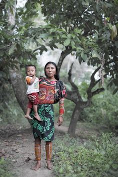 The Tules of Colombia- Indigenous group in danger of extinction. They live Antioquia & Arquia
