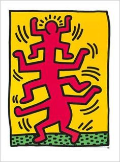 Untitled 1988 By Keith Haring