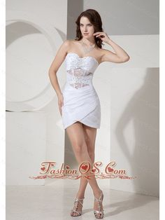 mini skirt wedding dress