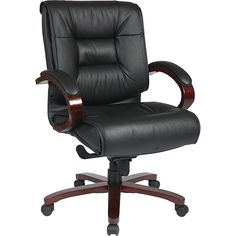 Deluxe Mid-Back Executive Chair