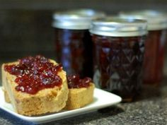 Spiced Cranberry Cabernet Jam Posted by Lucy Baker, December 17, 2012 [Photograph: Lucy Baker]