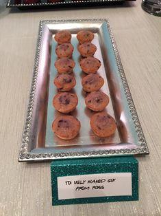 F•R•I•E•N•D•S theme birthday party; Ross's mini muffins