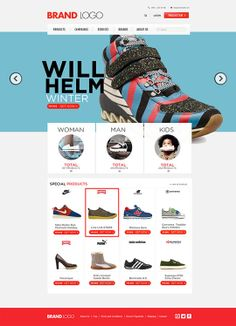 Shopping-Template-free-psd