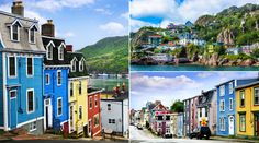 """When John Cabot first landed in North America at Newfoundland in his first words in his native Italian were """"O Buono vista!"""" which translates to """"Oh happy Cross Canada Road Trip, Newfoundland Canada, Vacation Places, Travel List, Churchill, The Row, North America, Places To Go, Things To Do"""