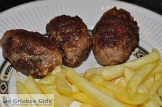 Bifteki met kaas - Grieks