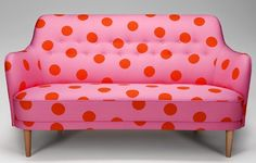 polka dot couch
