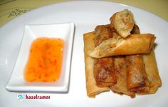 i am the cook!: Lumpiang Isda (Fish Spring Roll)