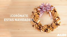 Inspírate con ALDI: consejos e ideas para todos Burlap Wreath, Ideas Para, Wreaths, Fall, Home Decor, Corks, Celebrations, Garlands, Parties