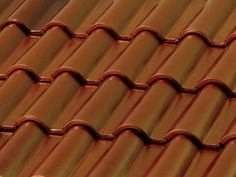 Metallic Copper (Metalizado Cobre) from the BORJAdecor Metallic roof tile collection. Metal reflection is its main characteristic.