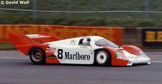 Porsche956#104 Sorga SA  Silverstone 1000 Kilometres 1983