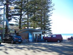 Bumbalino Cafe Bilgola Beach.  I used to help out the old man who had this little kiosk in the early sixties. Selling ice creams and drinks to the Clubbies . OH my goodness !