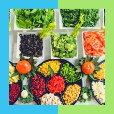 5 Foods to Avoid at the Salad Bar - Diet and Nutrition Center - Everyday Health Veg Dishes, Vegetarian Main Dishes, Cobb, Dieta Detox, Plant Based Diet, Balanced Diet, Food Lists, Healthy Lifestyle, Healthy Living