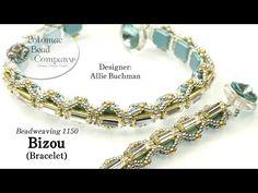 Bizou Bracelet YouTube free jewelry-making tutorial, with all supplies from Potomac Bead Company (www.potomacbeads.com