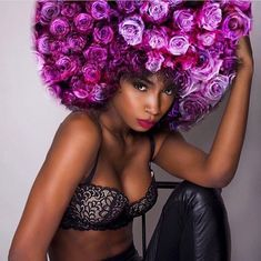 ROSES AFRO