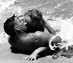 "Burt Lancaster and Deborah Kerr in ""From Here to Eternity"" in 1953"