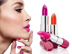 Dare to be brighter and more noticeable - try trendy neon make-up lips ! Rich pigments neon lipstick 5 - in-1 The ONE Colour Stylist Intense Collection is uniformly applied , it provides a saturated color and lasts a long time
