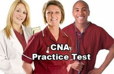 practice test question and answers for CNA