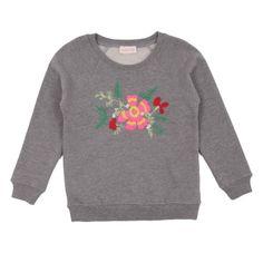 Simple Kids Flower Sweatshirt