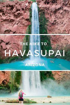 Havasupai Packing Guide | What to expect | Mooney Falls | Waterfalls of USA | Arizona Hikes | Arizona Bucket List | Details of Havasupai | Packing Guide to Havasupai | Expectations for Havasupai | Top 10 Things You Need To Know