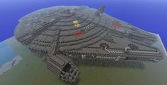 cool minecraft creation of star wars star destroyer | ... Couronnes dans Game of Thrones D'autres créations de Game of Thrones