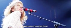 THE RED TOUR Taylor Swift Red Tour, Intense Love, Feelings And Emotions, Jealousy, Random Stuff, Idol, Tours, Queen, Concert