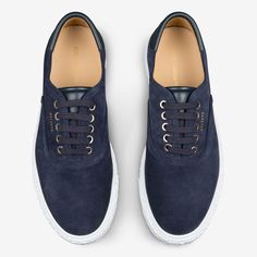 AXEL ARIGATO - Skate Sneaker Navy Suede Leather