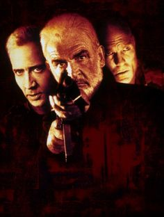 The Rock - Sean Connery, Nicolas Cage and Ed Harris.