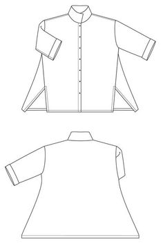 This is the London Shirt printed pattern.There is also a digital version of the London Shirt pattern available which you can purchase here.Shirt Loose-fitting s Clothing Items, Clothing Patterns, Sewing Patterns, Shirt Patterns, Dress Patterns, Sewing For Beginners, White Shirts, Sewing Clothes, Doll Clothes