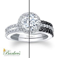 Yin or Yang? Tell us! #Barkevs #blackdiamonds #diamonds #engagementrings #engagement #rings #black #weedding #brides #bridetobe #yinandyang