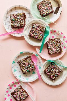 Chocolate Sheet Cake via Bakers Royale