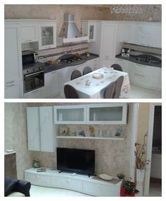 Melita's kitchen and living room! http://acasaconte.spar.it/iniziativa-a-casa-con-te/
