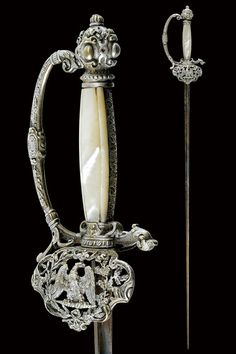 Small sword: provenance: France dating: mid-19th Century. | CZERNY'S