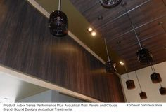 Koroseal - Wood look acoustic panels