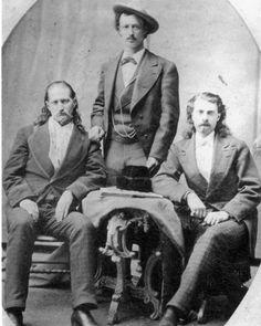 Wild Bill Hickok, Texas Jack, Buffalo Bill