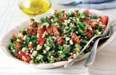 Giant Couscous Tabbouleh Recipe: Veggie Magazine