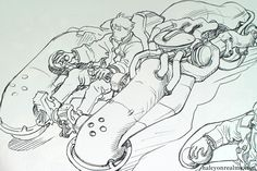 ---///Concept Art Tutorials///--- We have more tutorials and stuff Katsuhiro Otomo, Concept Art Tutorial, Mecha Anime, Robot Design, Character Design References, Comic Artist, Art Tutorials, Cyberpunk, Illustration