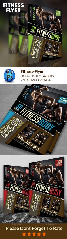 Oxygen Gym Flyer Gym, Flyer template and Event flyers - flyer samples for an event